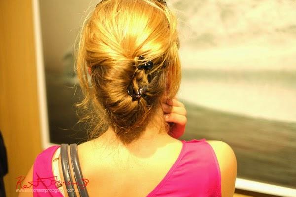 Hair clips at Black Eye Gallery for MELT.