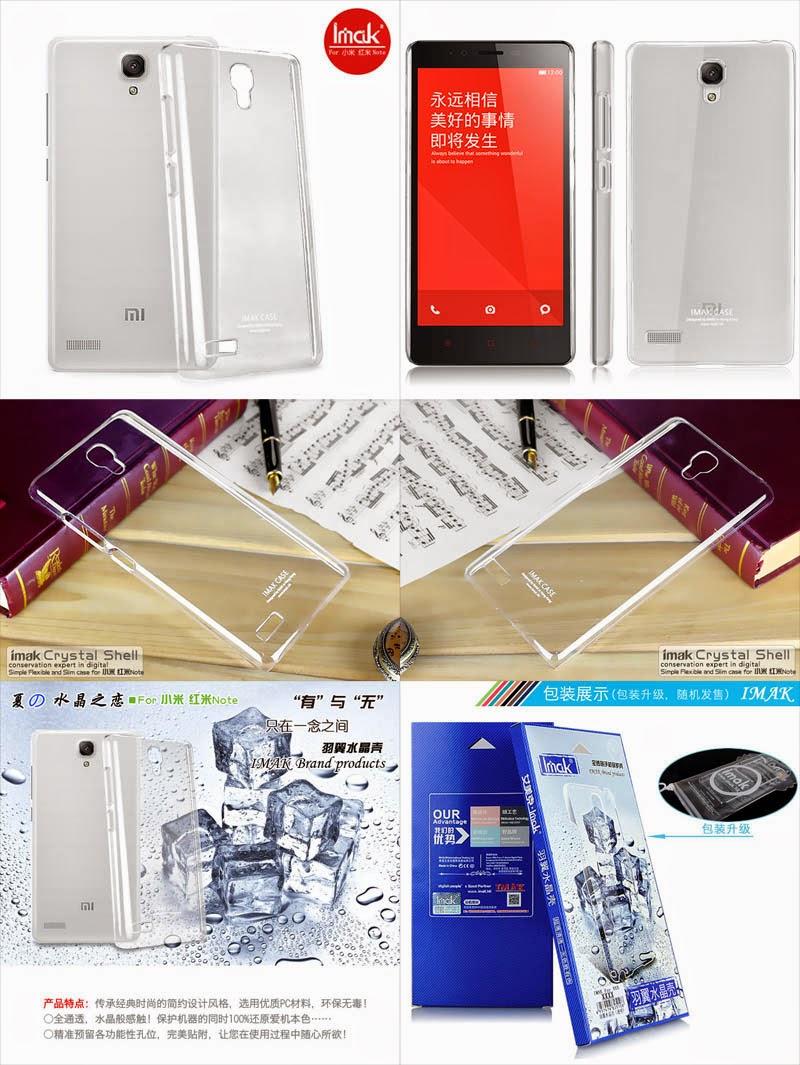Jual Imak Crystal Case 1st Series Xiaomi RedMi 1s-HongMi Rp70rb