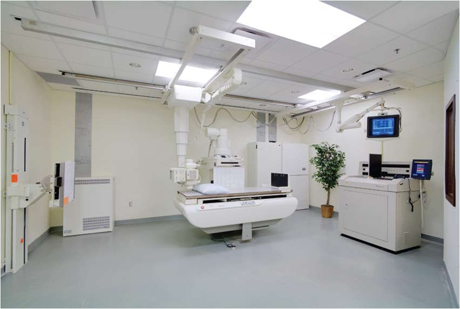 Toronto hospital medical healthcare electrical for X ray room design
