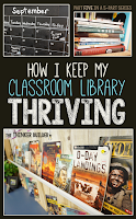 http://www.thethinkerbuilder.com/2014/09/how-i-keep-my-classroom-library-thriving.html