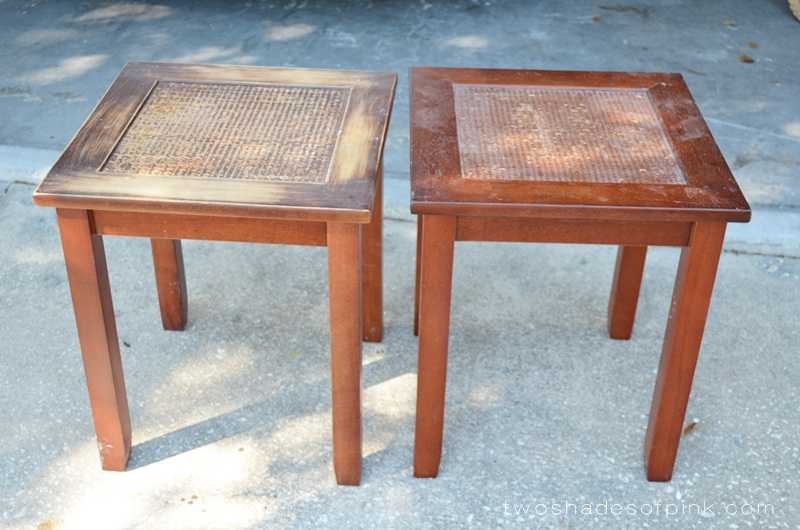 Superbe I Have Hung On To These Tables Picked Up From Wal Mart Several Years Ago  Because We Needed End Tables In Our Bedroom. I Have Not Used Them In Years  (Iu0027m ...