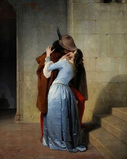 Поцелуй от Франческо Хайеса (Francesco Hayez)