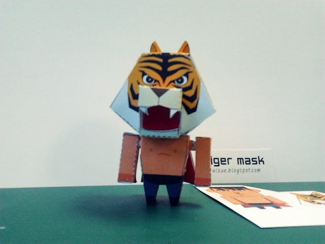 Tiger Mask Papercraft