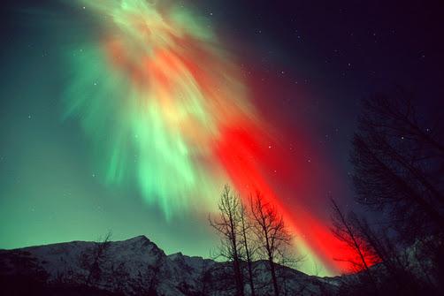 Aurora Borealis Northern Lights Christmas high resolution widescreen