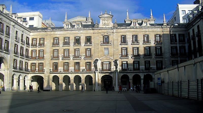 Plaza de Velarde o Porticada en Santander