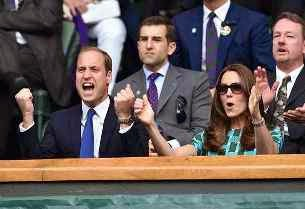 William and Kate Attend Wimbledon Finals