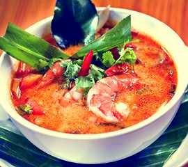 resep sup udang asam Tom Yum Goong