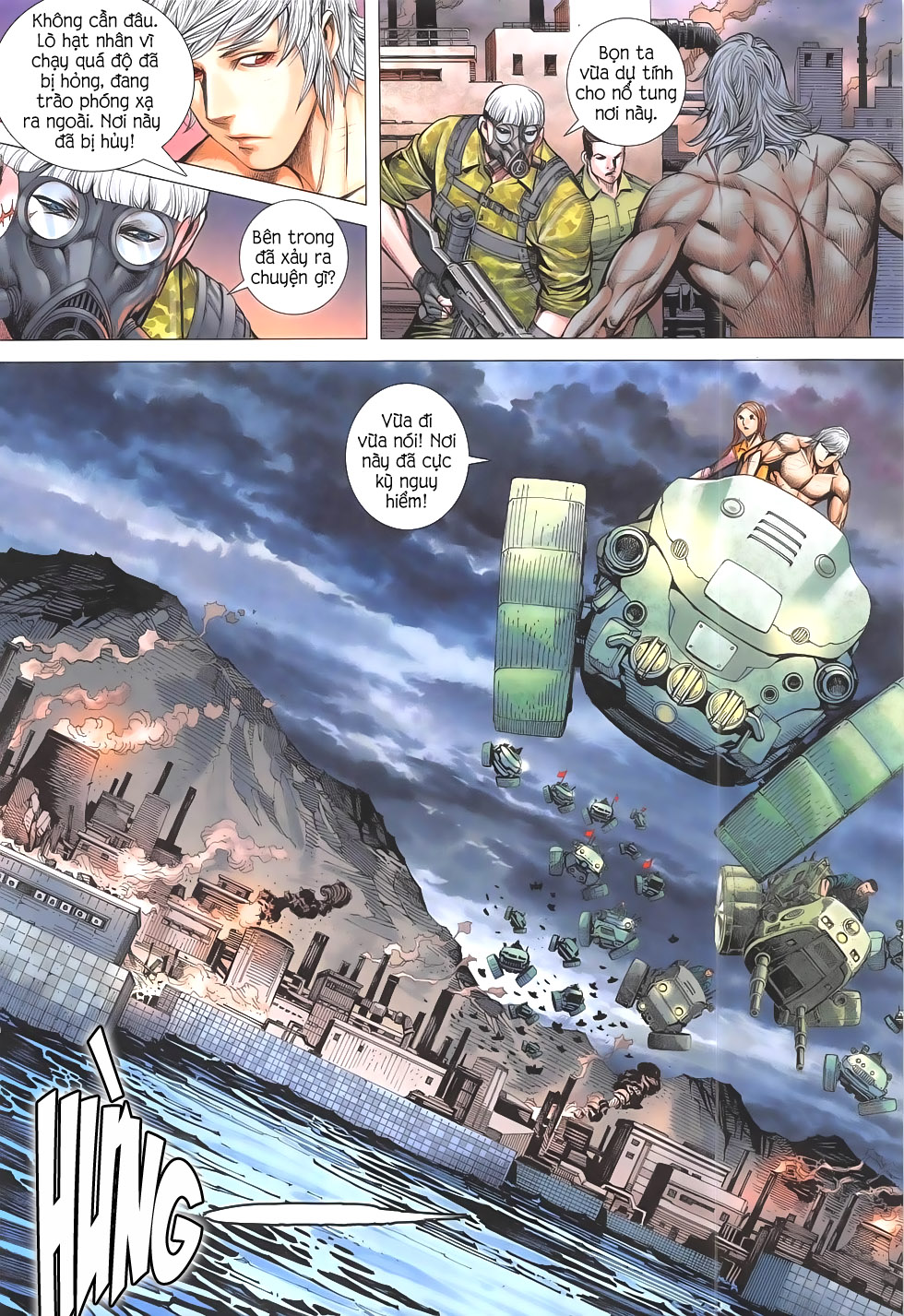 Đại Quân Phiệt chap 55 – End Trang 20 - Mangak.info
