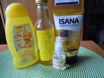 Niedziela dla włosów 21.06.2015 Porządne olejowanie