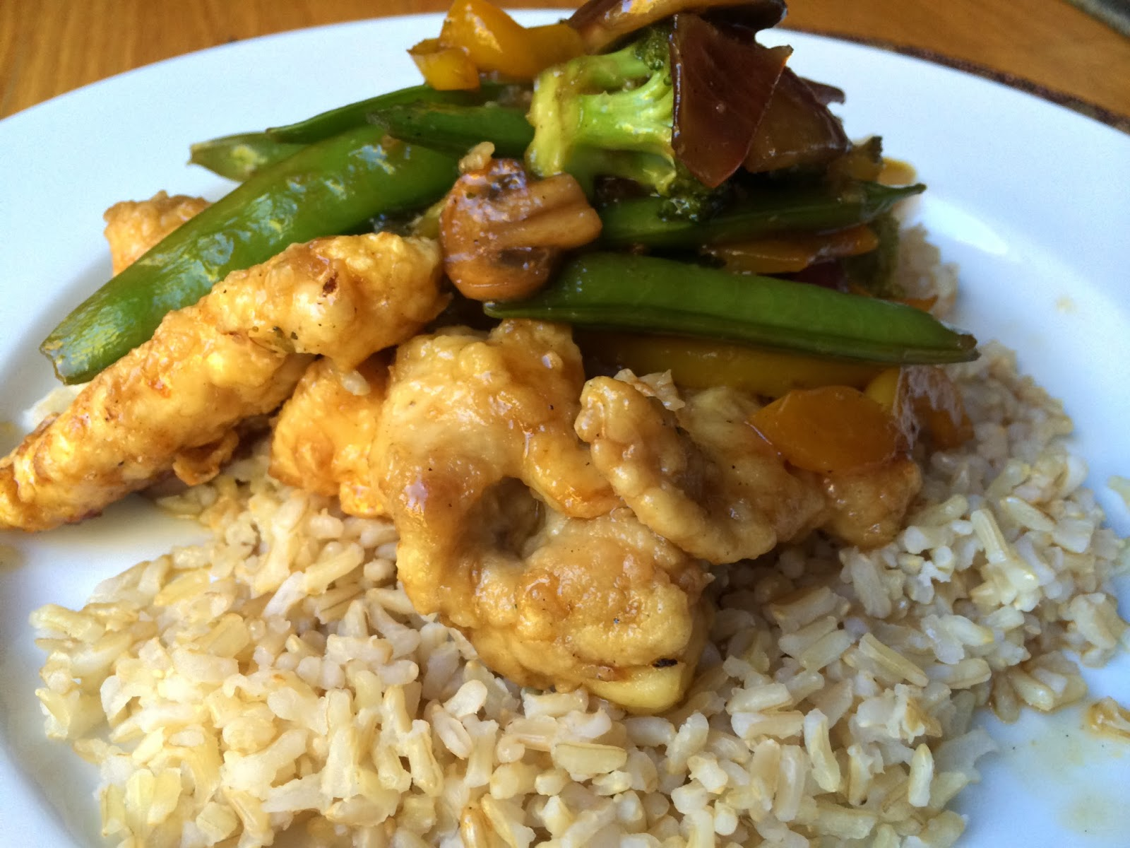 Asian Honey Chicken from Top Ate on Your Plate