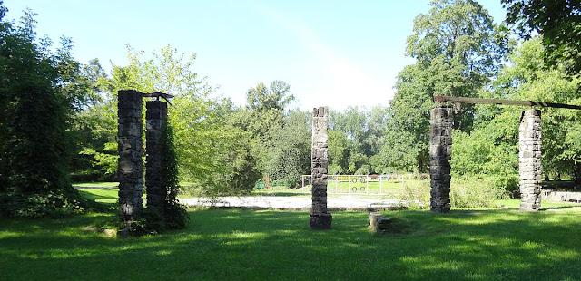 Pergola Park Leśnika w Warszawie na Gocławku