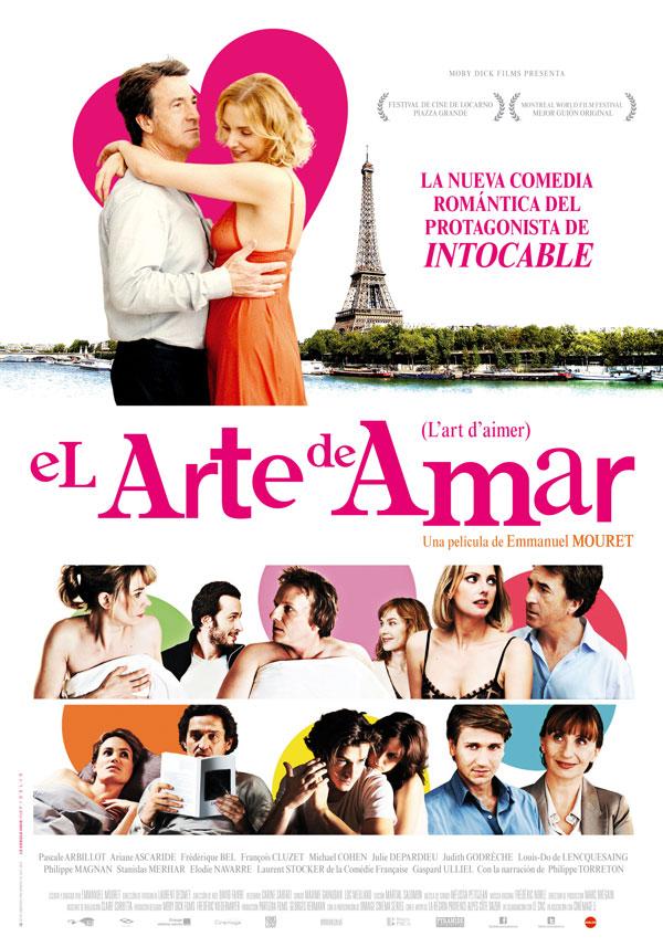 Cartel de El arte de amar, con Emmanuel Mouret y Pascale Arbillot, para los estrenos de la semana de Making Of
