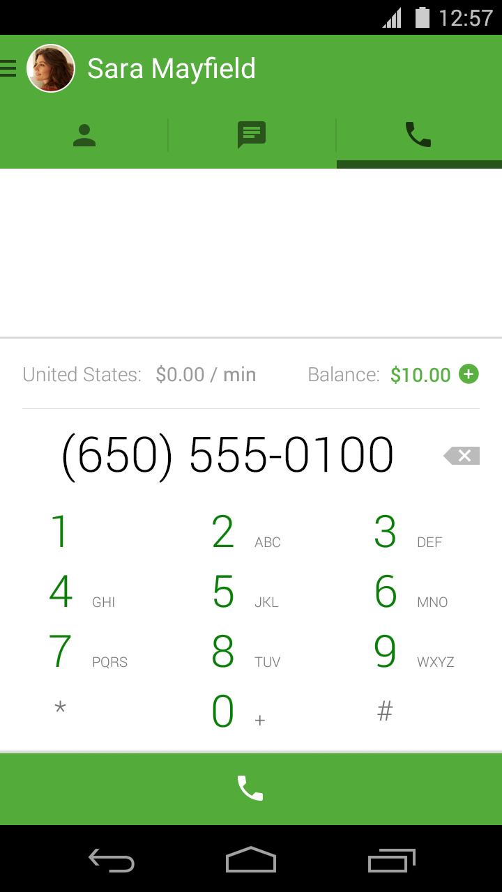 Google Hangouts for Android Now Supports Free VOIP Calling Using Your Google Voice Number