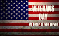Honoring those that served on Veterans Day!