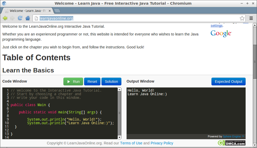 15 Free Resources to Learn Java Programming Online