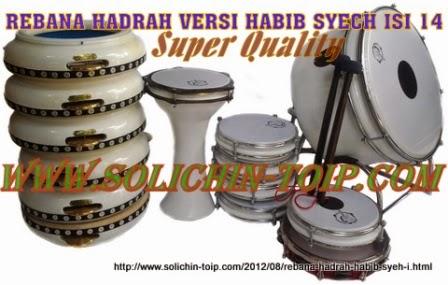 Rebana Hadrah versi Habib Syech Super isi 14 harga mahal merek Solichin Toip