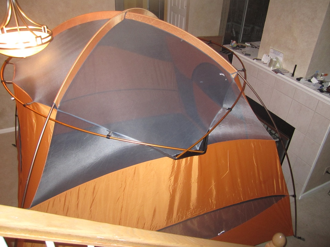 We picked the Marmot for itu0027s peak height of 75 inches - quite a change from my hammock with a  peak height  of about 24 inches and the fact that it has ... & Open Air and Sunshine: Marmot Halo 6
