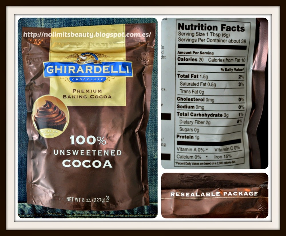 iHerb - Ghirardelli Premium Baking Cocoa