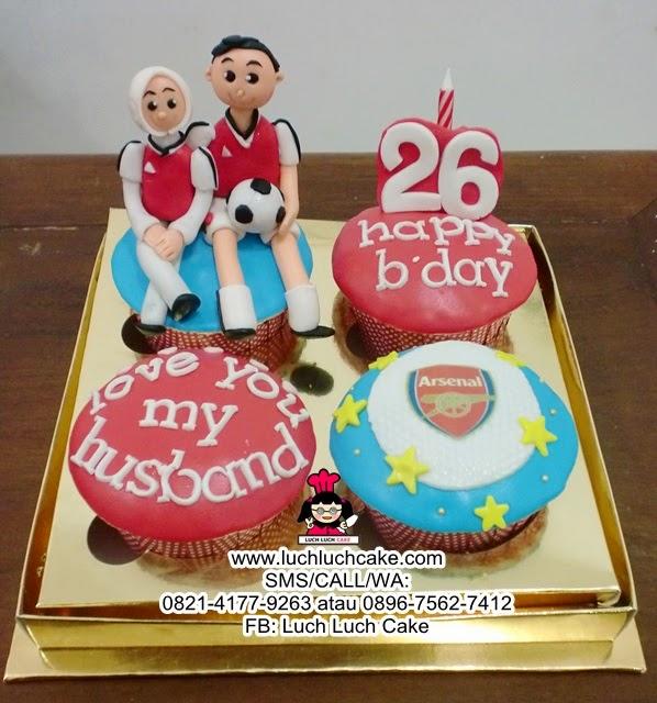 Cupcake Arsenal Couple Daerah Surabaya - Sidoarjo