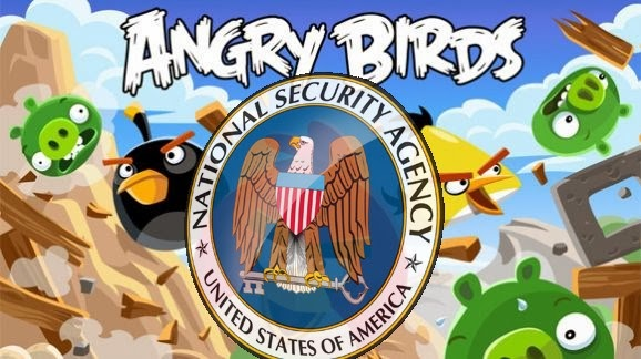NSA using Angry Birds and other Mobile Gaming apps to acquiring your Personal data, NSA using Angry Birds and other Mobile Gaming apps, hack angry bird, hack subway suffer, hacking mobile phones, spoofing mobile phones, hackers, NSA leaks, Snowden reports,