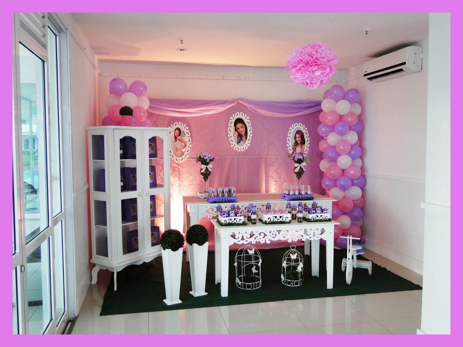 decoracao festa violeta: Ateliê de Festas e Lembrancinhas: Violetta para Maria Eduarda