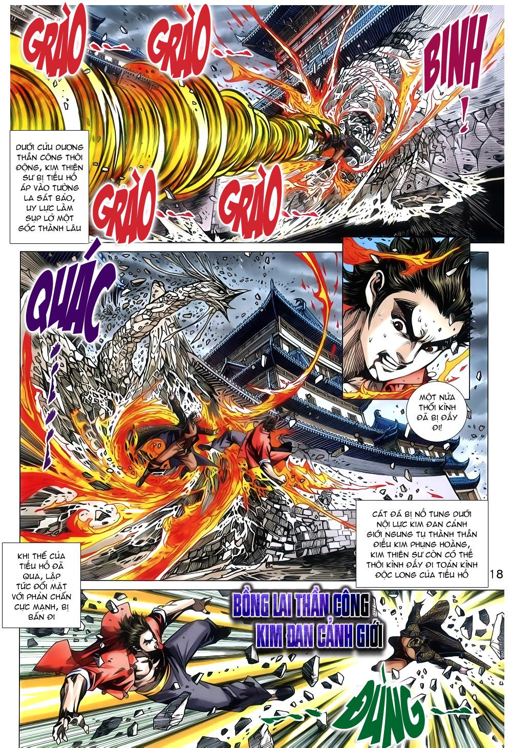 Tân Tác Long Hổ Môn chap 791 Trang 18 - Mangak.info