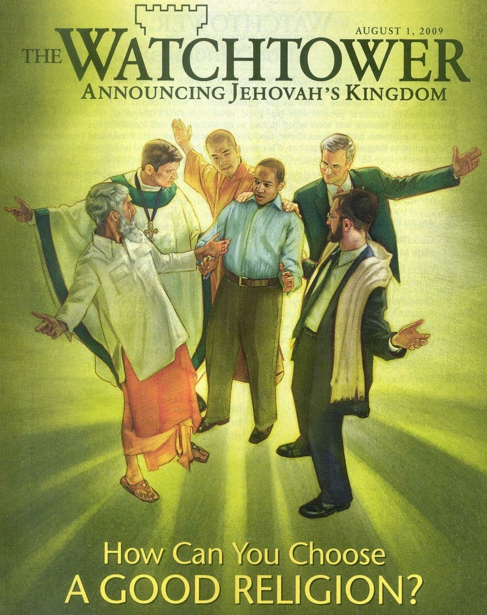Witnessing to Jehovah's Witness: The Watchtower organization