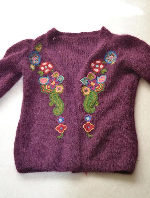 embroidered cardigan geborduurd vestje