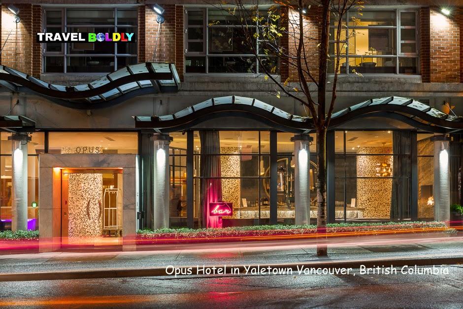 OPUS Hotel Yaletown Vancouver British Columbia - Travel Boldly