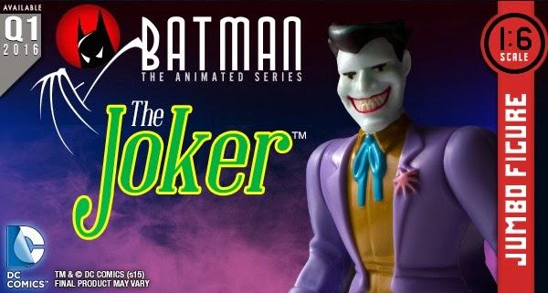 "The Joker Batman: The Animated Series 12"" Jumbo Vintage Action Figure by DC Comics x Gentle Giant"