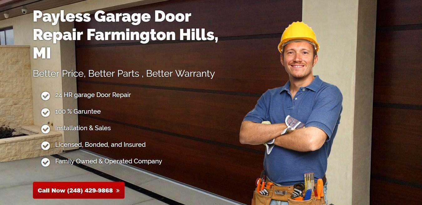 Payless Garage Door Repair Farmington Hills