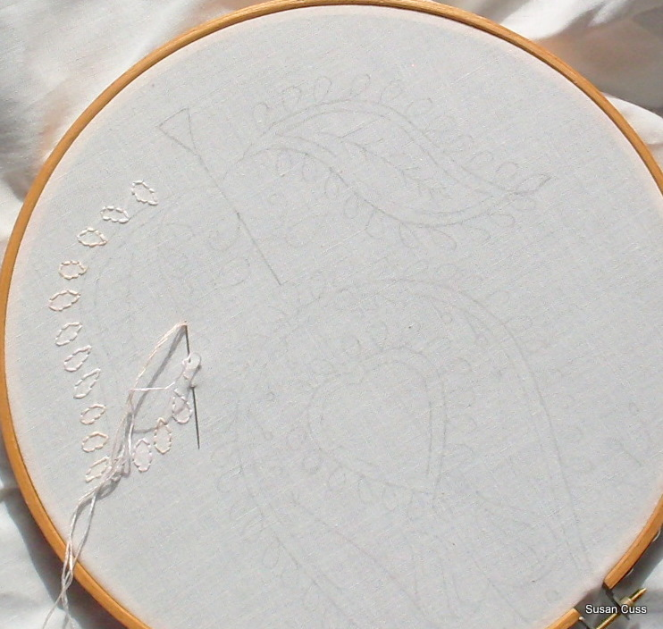 Suztats chikan embroidery