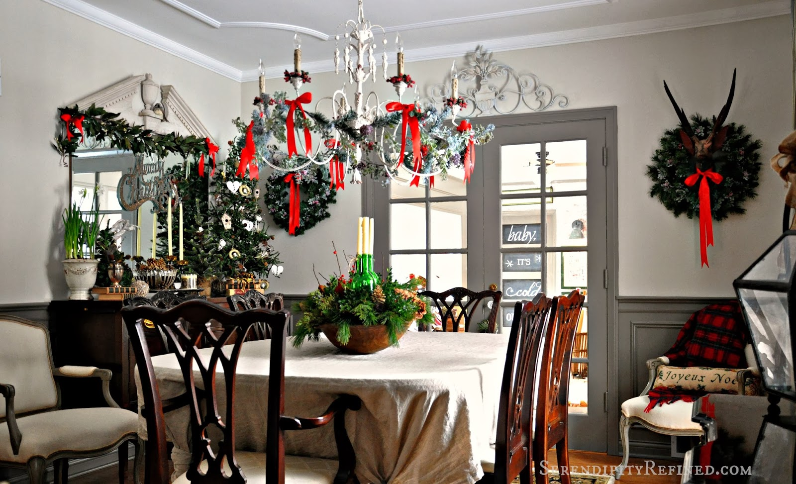 french country christmas decorations french country inspired