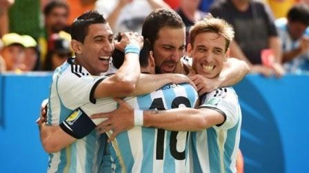 Argentina vs Belanda