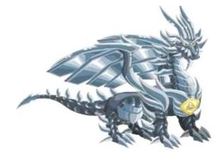 Dragão Puro Metálico
