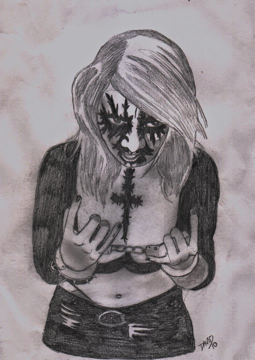 METAL SUGAR, femme, metal, metalleuse, black metal