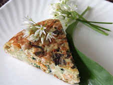Wild Garlic and Potato Tortilla