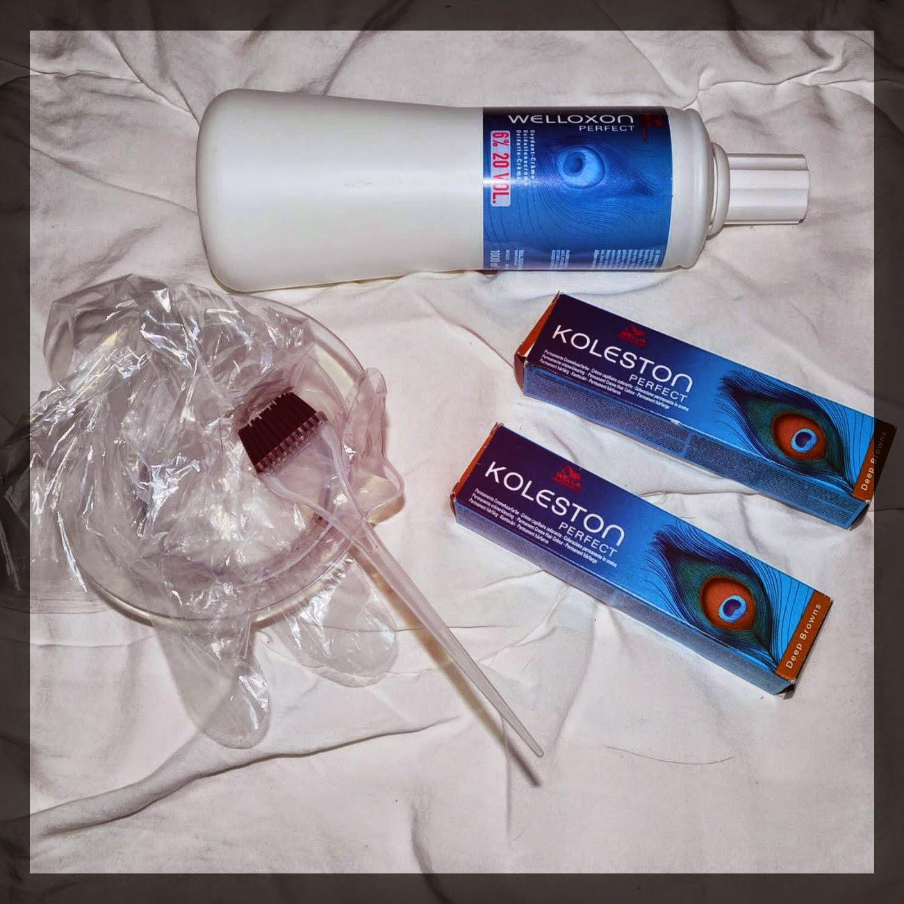 ou ici pour la couleur et l pour loxydant petit format 60ml ou grand format 1000 ml - Coloration Cheveux Wella Koleston