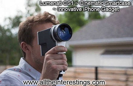 Lumenati CS1 ~ Cinematic Smartcase ~ Innovative iPhone Gadget
