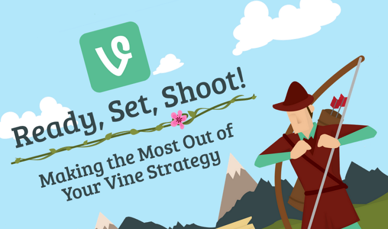 Ready, Set, Shoot! Making the Most Out of Your Vine Strategy - infographic