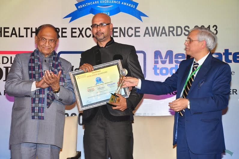 Healthcare excellence award for Best Skin Care Service in Delhi