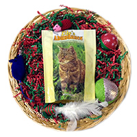 cat gift basket