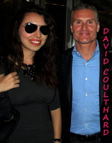 Meeting David Coulthard / David Coulthard ile samimi sohbet