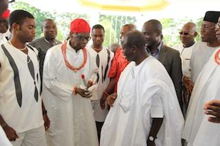 Oba Of Benin Visits Oshiomhole