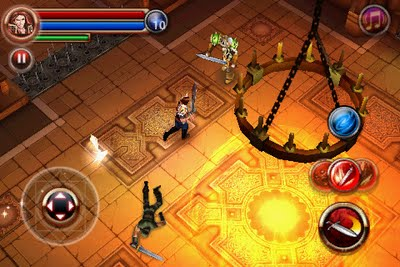 Download Dungeon Hunter 2 HD Signed for Symbian^3 Nokia N8, E7, E6, C7