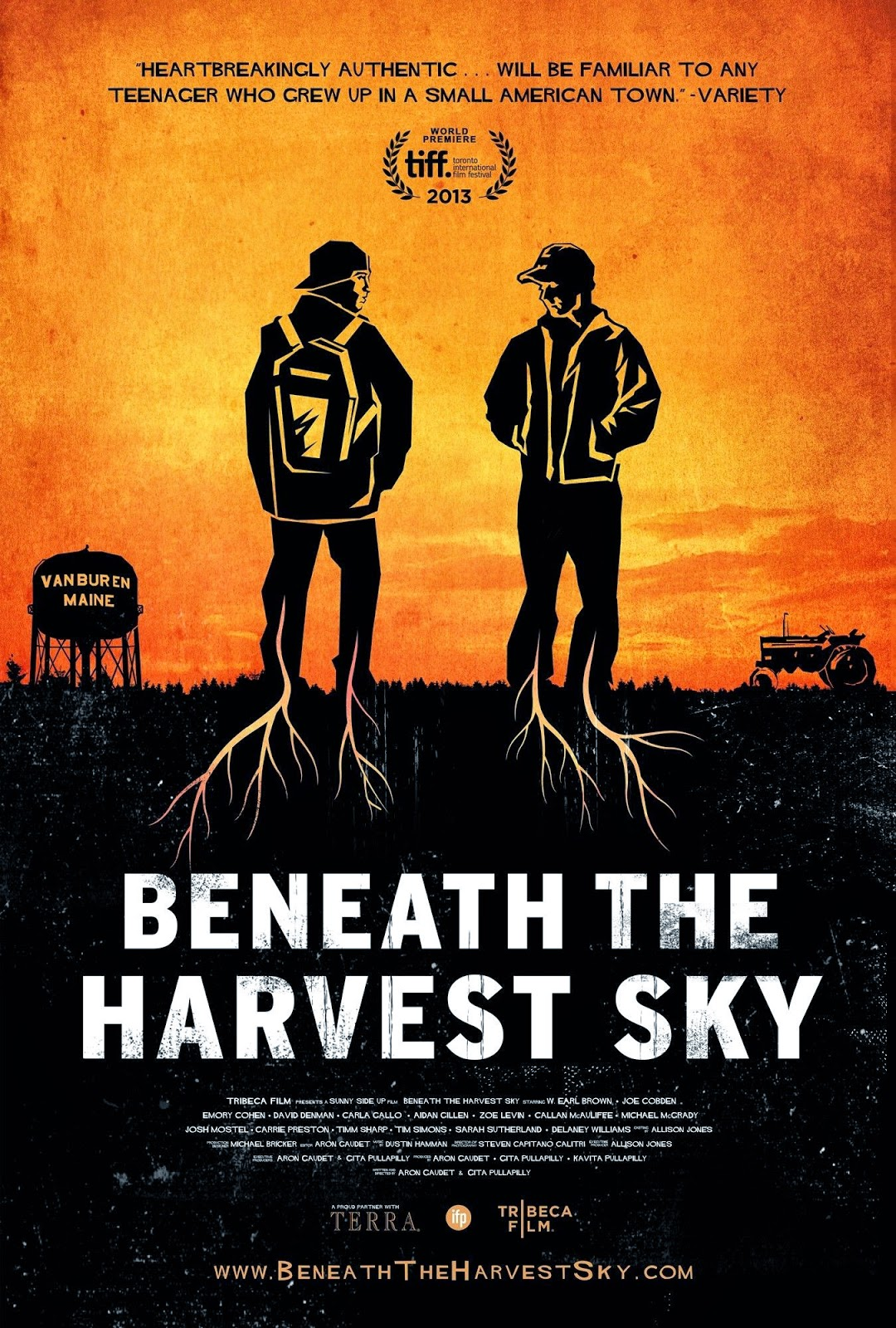 Crítica de Beneath the harvest sky, película indie.