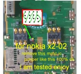 Nokia X2-02 MMC problem
