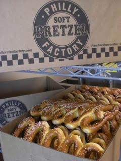 pretzel factory giving away free pretzels national