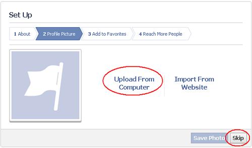 "Klik ""Upload from Computer"" lalu klik ""Save Photo"""