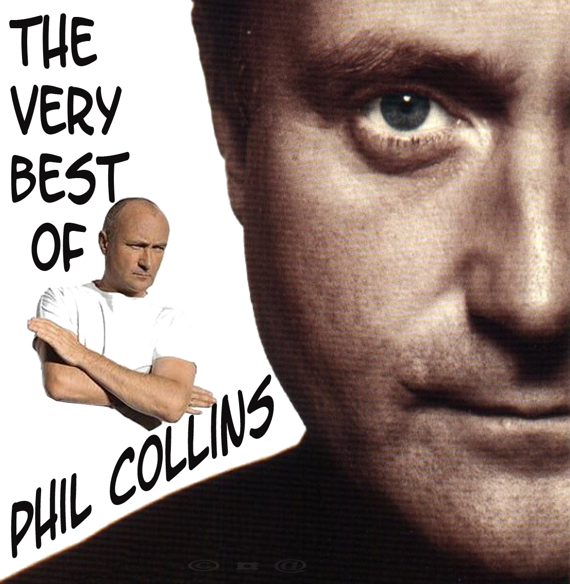 Capa do CD Phil Collins - The Very Best Of